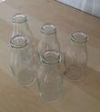 A louer – Lot de 5 bouteilles type lait - Occasion du Mariage