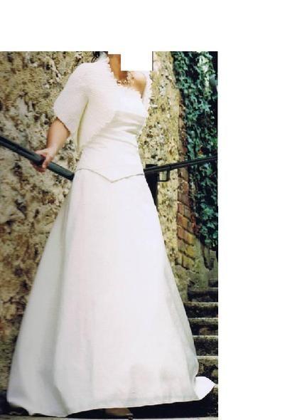 Robe de mariée d'occasion T38/40 Lambert Créations 2012 - Occasion du Mariage