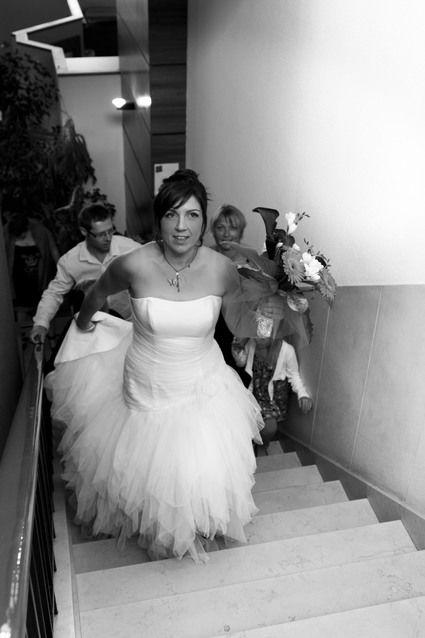 Robe de mariée modèle Rafale de chez Point Mariage