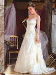 Robe de mariée brodée - Occasion du Mariage