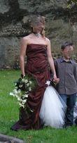 Robe de mariée Bellissima couleur chocolat pas cher en 2013