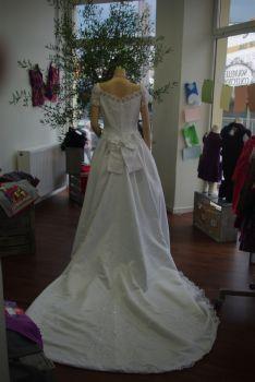 Robe de mariée blanche pas cher en Alsace 2012 - Occasion du mariage