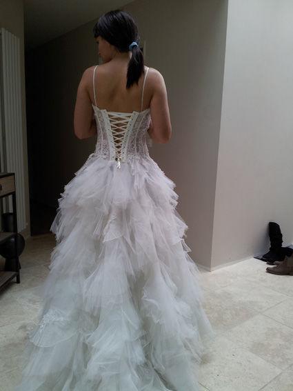 Robe de mariee dentelle pas cher d'occasion 2012 - Rhône Alpes - Isére - Occasion du Mariage