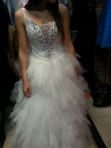 Robe de mariée neuve style princesse taille 38