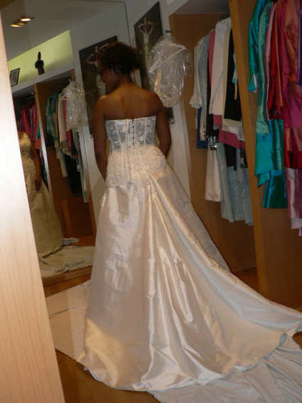 Robe de mariée de marque Rosi Strella pas cher en 2013 - Occasion du Mariage