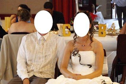 Costume de marié complet chocolat d'occasion