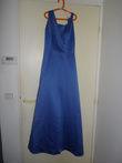 Robe de soirée d'occasion Bleue Electrique Point Mariage T38