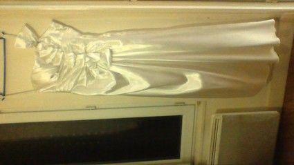Location robe de mariée pas cher à Paris avec boléro et foulard