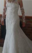Robe de mariée Pronovias coupe sirène - Occasion du Mariage