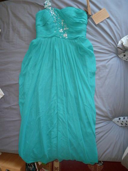 Robe couleur vert jade