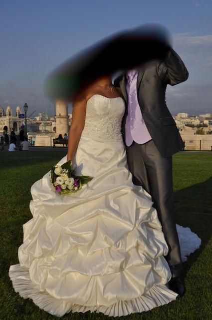 Robe de mariée Pronovias d'occasion T40-42 à Marseille