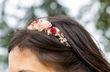 Serre-tête fleurs naturelle stabilisées - Occasion du Mariage