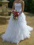 Robe de mariée blanche d'occasion Collection Églantine (Rêve et Réalité)