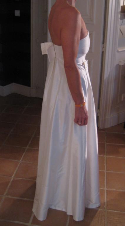 Robe de mariée Tara Jarmon en soie jamais portée en 2013