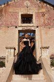 Robe de mariée noir baroque pronuptia - Occasion du Mariage