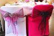 100 housses lycra fuchsia quasi neuves - Occasion du Mariage