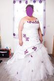 Robe de mariée brodée - T50/52 - Occasion du Mariage