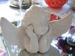 Anges blanc en faience  - Occasion du Mariage
