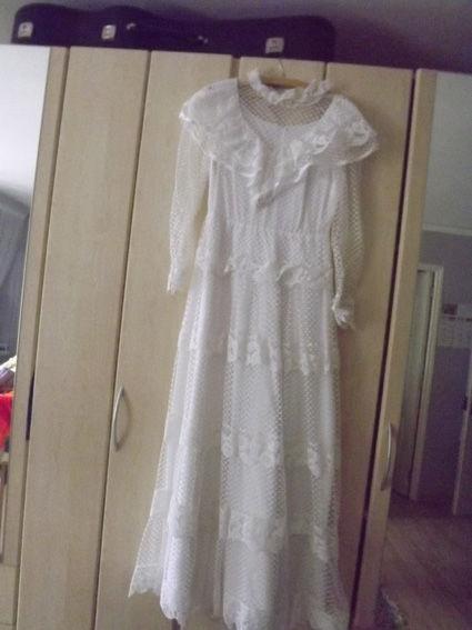Robe de mariée style rétro pas cher d'occasion 2012 - Lorraine - Vosges - Occasion du Mariage