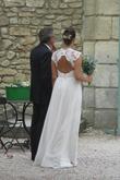 Superbe robe de mariée HEIDI de la créatrice Monique Lhuillier d'occasion à Paris
