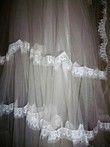 Robe de mariée Pronuptia blanche taille 38/40 avec voile - Occasion du Mariage