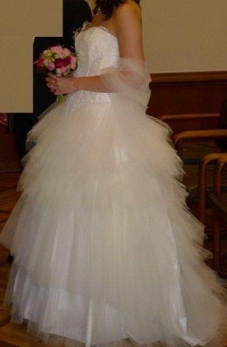 Robe de mariée modèle Abacana Primanovia + jupon pas cher en 2012