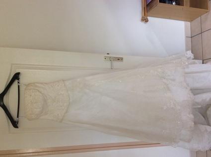 Robe de mariée ivoir - Martinique