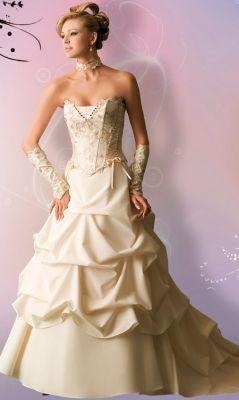 Robe de mariée d'occasion Matrimonia Otomi couleur ivoire - Occasion du Mariage