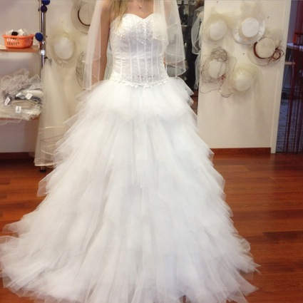 Robe de mariée neuve T38 couleur ivoire - Corréze