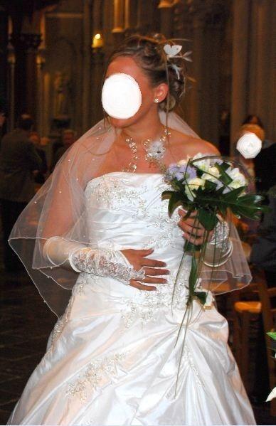 robe de mari e d 39 occasion en soie sauvage cr ateur espagnol