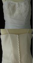 Robe de mariée pas cher une pièce 2012 - Occasion du mariage