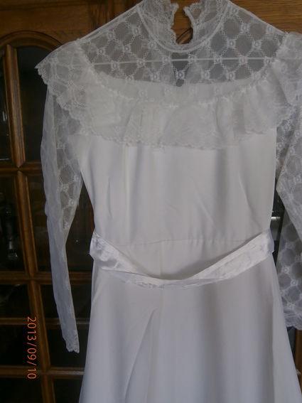 robe longue de mariée - Occasion du Mariage