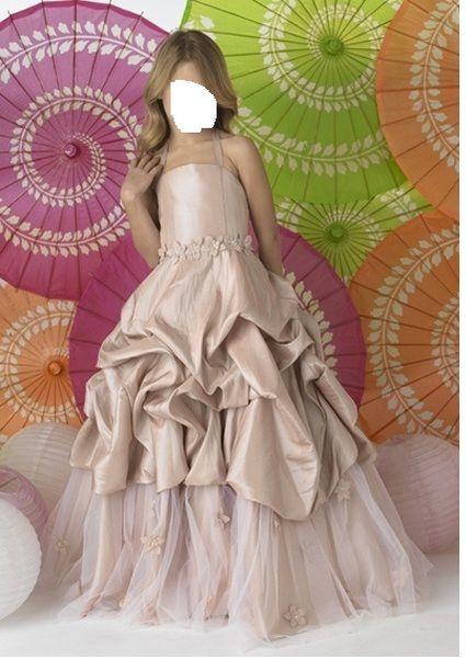 Robes de cortège mariage taille S et 8/10 ans pas cher - Occasion du Mariage
