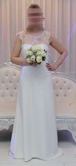 robe de mariée bustier et blouse dentelle - Occasion du Mariage
