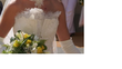 Robe de mariage Elsa Gary avec bustier T36/38 soie / organza / dentelle