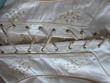 Robe de Mariage Créateur Français - jupe et corset 100% soie