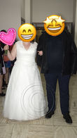 Robe de mariée modèle Tilleul T48 - Occasion du Mariage