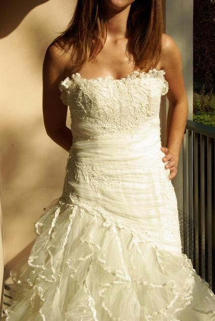 Robe de mariée Pronovias pas cher d'occasion 2012 - Rhône Alpes - Rhône - Occasion du Mariage