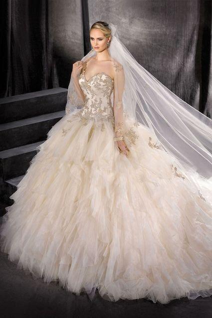 Robe de mariée kelly star 176-15 - Gard