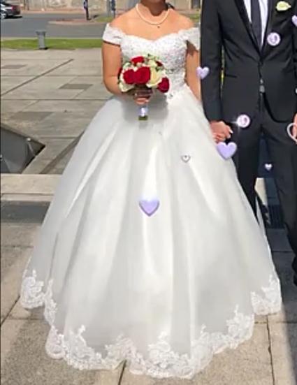 Robe de mariée style Princesse - Rhône