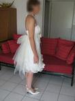 Robe de mariée courte T38 - Modèle Antibes de Dany C - Occasion du Mariage