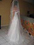 Voile de mariée long pas cher 2012 - Occasion du mariage