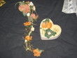 Bouquet de mariée originale en fleurs de soie d'occasion