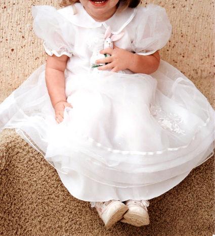 Jolie robe de cérémonie 4 ans pas cher - Occasion du mariage