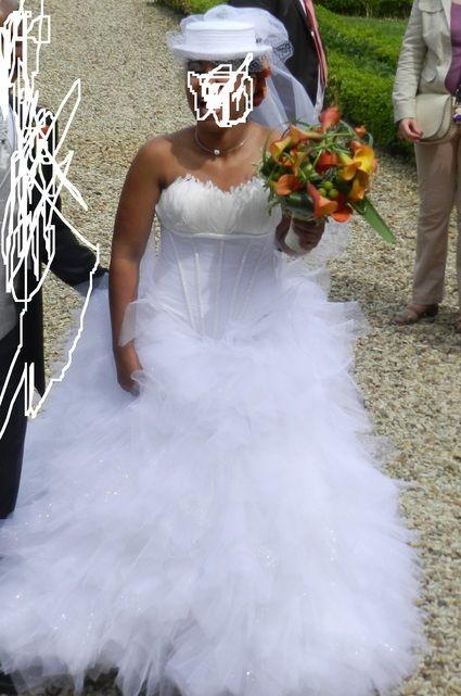 Robe de mariée Hervé Mariage d'occasion T40-42