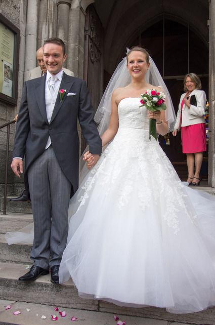 Costume de mariée de créateur 5 pièces