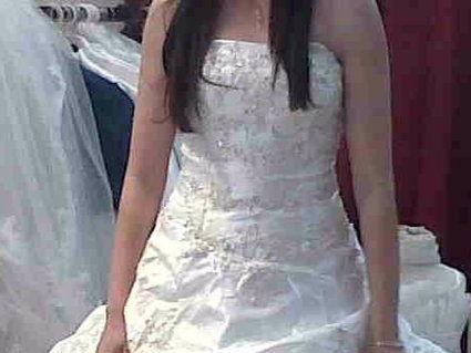 Robe de mariée neuve écru taille 38 à Meyzieu - Rhône