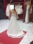 Robe de mariée vintage dentelle de calais  - Occasion du Mariage