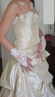 robe de mariée composée d'une jupe et d'un bustier - Occasion du Mariage