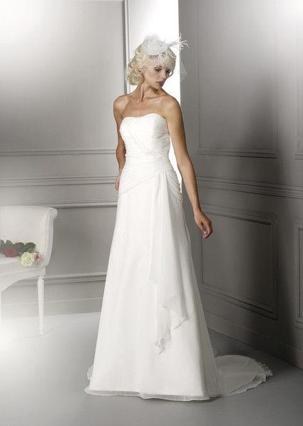 Robe de mariée Lolita hervé mariage T36 pas cher - Occasion du Mariage